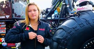 The Georgia Tech Engineering Student Tours Professionally As A Driver But By Day Shes In Workshop At School Building Monster Truck That She Says