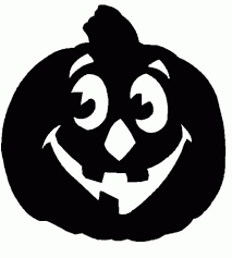 Pumpkin Clipart Black And White Image