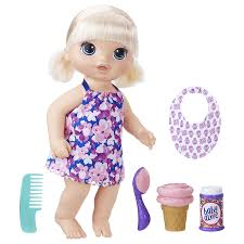 Baby Alive Magical Scoops Baby Blonde Hair Doll The Entertainer