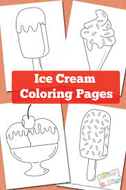 Sharpen The Coloring Pens And Lets Color These Free Printable Ice Cream Pages1