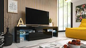 tv schrank 158 calisto mediawand tv lowboard hochglanz