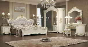 klasisches schlafzimmer antonia in beige 7 teilig deluxe barock italienisch bett