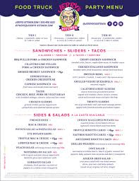 Catering Menu - Jerrys Food Truck 333tacomenu Best Food Trucks Bay Area Miami Truck Catering Page Burger Beast 77 Menu Template Creative And Ultimate Guide To Display Options For Theme Ideas And Inspiration Truck Menus Louziana Restaurant Pounders Cluck Augustas Subs Salads Bacons Bbq Barbeque The Images Collection Of Menu Mplate Psd Flyer Restaurant A Amgencafes At Amgen
