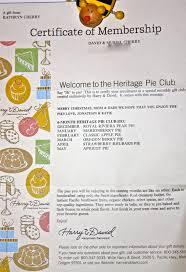 Harry & David Pie Club