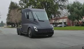 Tesla Semi Spotted On Public Streets Between Fremont Factory And ... 44 Historical Photos Of Detroits Fruehauf Trailer Companythe Mack Trucks Wikipedia The Tesla Semi Will Shake The Trucking Industry To Its Roots Samsungs Invisible Truck That You Can See Right Through Fortune Biggest Rig Ever Youtube Nikola Corp One Truck602567_1920 First Capital Business Finance Interior Video Shows Life A 20 Trucker Old Trucks Being Loaded Onto Railroad Cars Long Haul Navistar Will Have More Electric On Road Than By Jamsa Finland September 1 2016 Yellow Man V8 Semi Truck Hauls Selfdriving Freightliner Inspiration From Daimler