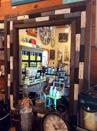 Natural Wood And Glass Mirror - 26