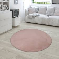 shaggy teppich wohnzimmer rosa pink schlafzimmer hochflor