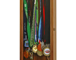Marathon Medal Display Wall Cabinet