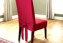 Dining Seat Covers Cover Elegant Leather Chair
