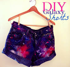 diy galaxy high waist denim shorts distressing u0026 studs youtube