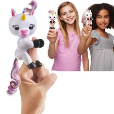 Gigi The Fingerlings Baby UnicornFingerlings Unicorn Interactive Monkey Toysfingerlings By Susslight