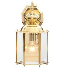 progress lighting brass guard collection 7 inch polished brass