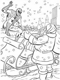 1984 MARVEL SUPER HEROES CHRISTMAS COLORING BOOK