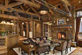 Incredible Rustic Living Room Furniture 40 Awesome Decorating Ideas Decoholic
