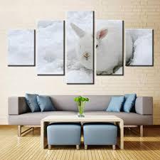 eternity niedlichen kaninchen leinwand malerei moderne 5