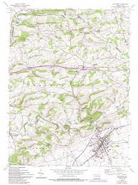Sinking Springs Pa Map by Kutztown Topographic Map Pa Usgs Topo Quad 40075e7