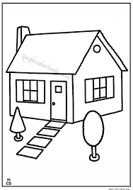 These Free Printable House Coloring Pages And Sheets Of Farm Pictures Are Fun For Kids Book