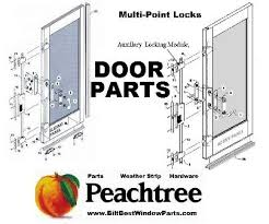 Peachtree Patio Door Replacement by Peachtree Citadel Ariel Carvel Citation Prado Part Chicago Illinois