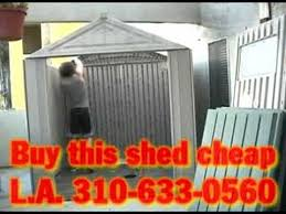 storage shed big max by rubbermaid was 660 now 450 l a youtube