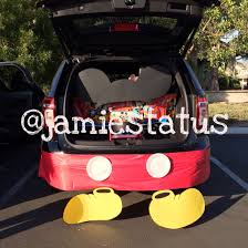 Trunk Decorating Ideas Beautiful Trunk Or Treat Disney Mickey Mouse ... Here Are 10 Fun Ways To Decorate Your Trunk For Urchs Trunk Or Treat Ideas Halloween From The Dating Divas Day Of The Dead Unkortreat Lynlees Over 200 Decorating Your Vehicle A Or Event Decorations Designdiary Any Size 27 Clever Tip Junkie 18 Car Make It And Love Popsugar Family Treat Halloween Candy Cars Thornton