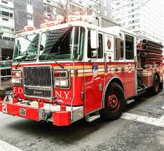 100 New York Fire Trucks FDNY ENGINE 21 AT A 2ND ALARM FIRE IN MANHATTAN NEW YORK CITY