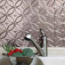 architecture amazing wall backsplash hammered metal tiles tin