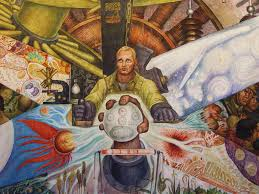 detail of diego rivera mural man controller of the uni flickr