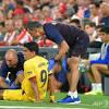 Football: Barcelona confirm Suarez suffered leg injury in La Liga opener