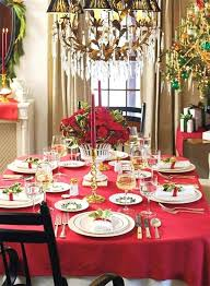 Christmas Table Centerpieces Elegant Dinner Decoration With 6 Best Dining Room Decor Ideas Runner