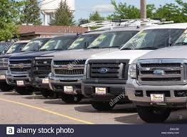 100 Used Trucks Dealership Parked At Car USA Stock Photo 72881734 Alamy