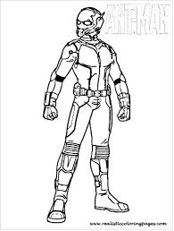 Man Coloring Page Iron Pages Figure Ant