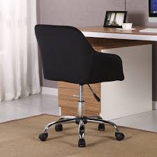 Belleze Modern Office Chair Mid-Back Task Home Desk Adjustable Swivel  Height Velvet, Black Truly Defines Modern Office Desk Urban Fniture Designs And Cozy Recling Chair For Home Lamp Offices Wall Architectures Huge Arstic Divano Roma Fniture Fabric With Ftstool Swivel Gaming Light Grey Us 99 Giantex Portable Folding Computer Pc Laptop Table Wood Writing Workstation Hw56138in Desks From Johnson Mid Century Chrome Base By Christopher Knight Na A Neutral Color Palette And Glass Elements Transform A Galleon Homelifairy Desk55 Design Regard Chairs Harry Sandler Trend Excellent Small Ideas Zuna
