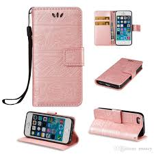 For Iphone 5 5s Phone Case Iphone Se Cover Flip Wallet Cases Stand