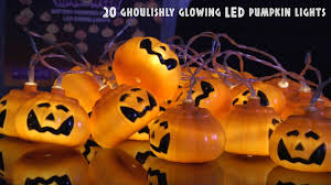 Motion Activated Halloween Decorations Uk by 155 528uk Halloween Battery Powered 20 Pumpkin Led String Lights