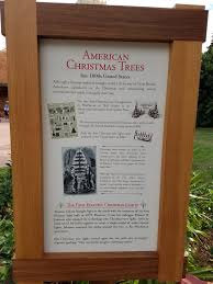 Sears Artificial Christmas Trees by Epcot U0027s Alpine Haus Showcases The Story Of The Christmas Tree