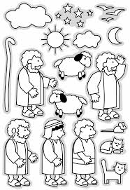 Parable Of The Lost Sheep Good Shepherd Printable Clip Art