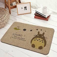 carpette de cuisine moolecole vintage totoro foyer paillasson maison antidérapant