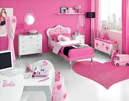Fresh And Relaxing Bedroom Design For Teenagers Who Love Barbie From The Bed To Heart Rug Make Your Daughter Feel Like Living In A Dolls Room