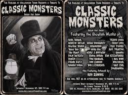 Halloween Town Burbank Ca Hou by Spooky U2022 Little U2022 Classic Monsters Group Art Show At