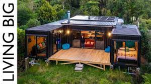 104 Container Homes Off Grid Living In A 5x 20ft Shipping Home Youtube