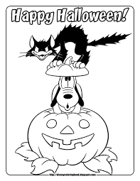 Free Printable Mickey Mouse Halloween Coloring Pages by Mickey And Friends Halloween 3 Free Disney Halloween Coloring