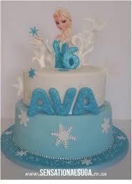 Frozen Cake 3 Elsa