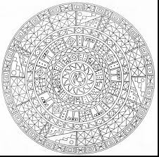 Magnificent Detailed Mandala Coloring Pages Adult With Free For Adults And