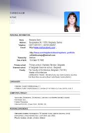 Resume Example For Job Application In Malaysia Valid Adorable
