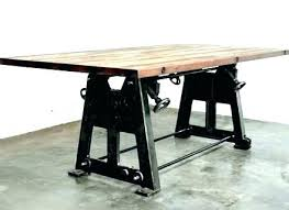Industrial Dining Room Set Style Table