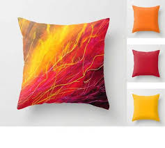 Red Decorative Pillows by Bright Decorative Pillows Purple Yellow Green
