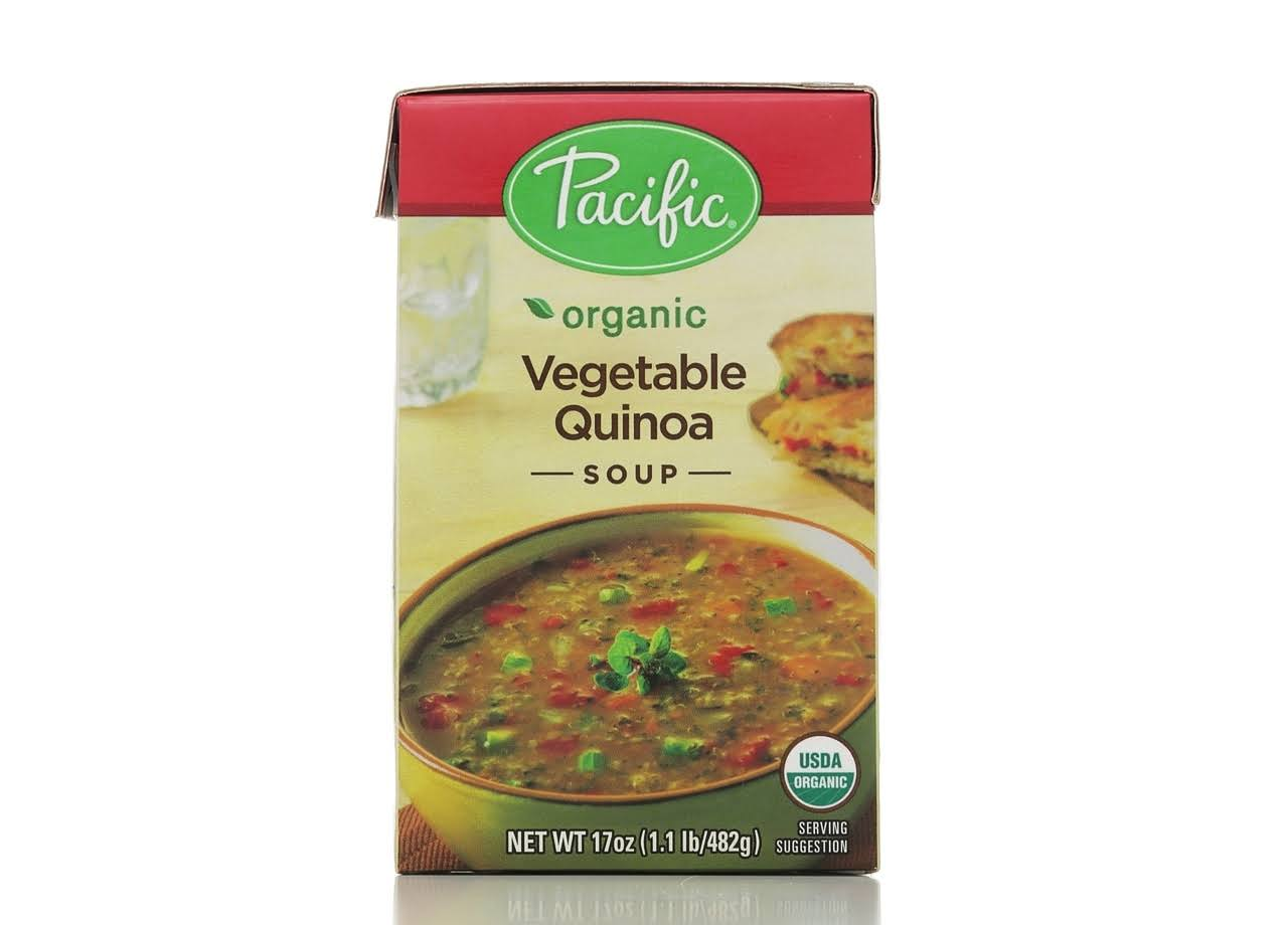 Pacific Organic Vegetable Quinoa Soup - 482g