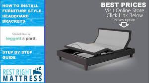 Leggett And Platt Adjustable Bed Headboards by How To Install Leggett And Platt Headboard Brackets Furniture