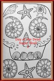 Day Of The Dead Sugar Skulls 2 By Monika Mira