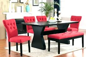 Chairs Formal High Dinner Table Cherry Red Dining Room T